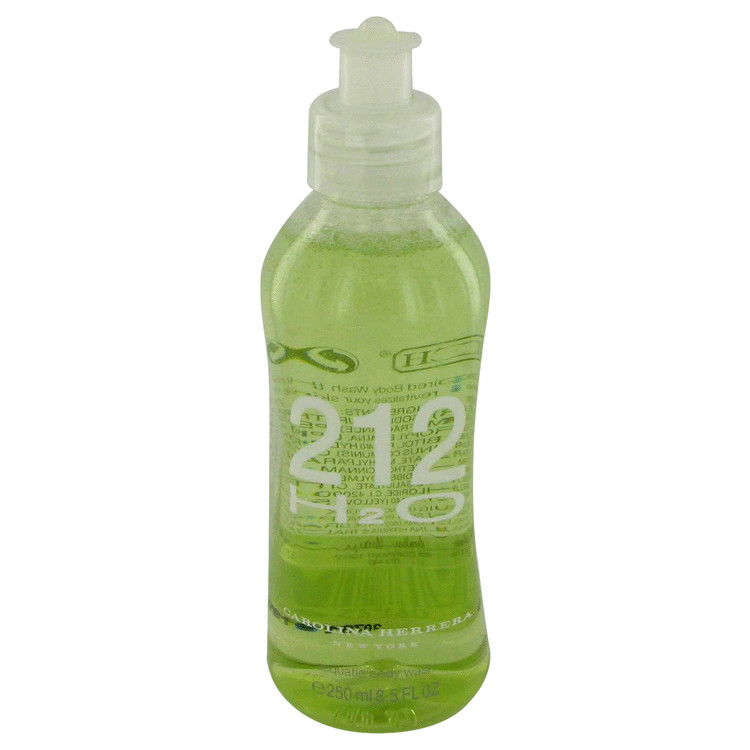 212 H20 Cologne by Carolina Herrera - 8.5 oz Body Wash