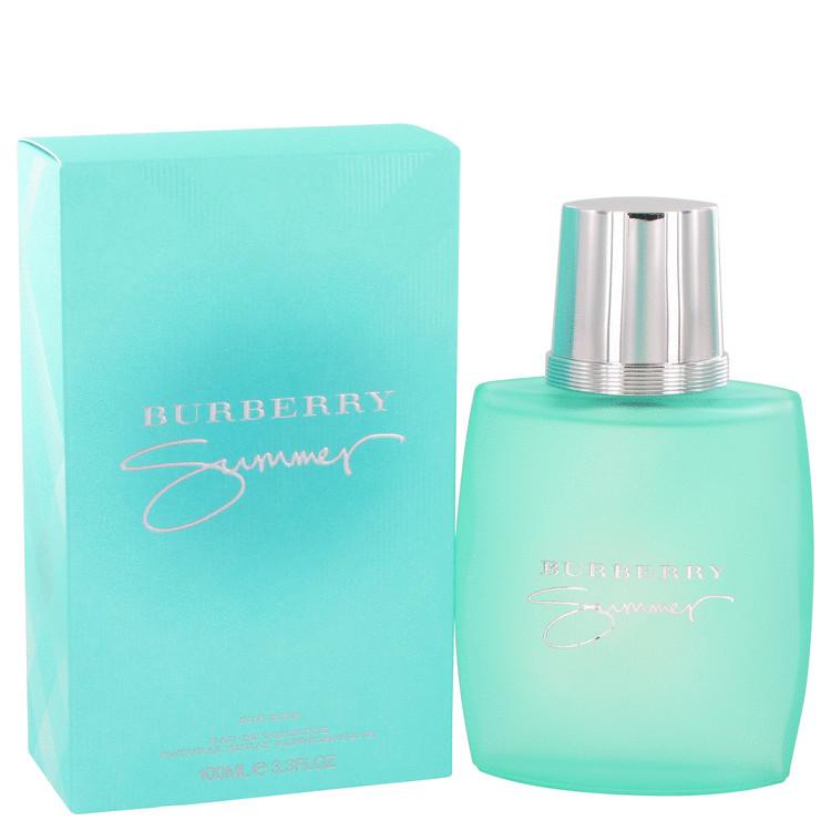 Burberry Summer Cologne by Burberry - 3.4 oz Eau De Toilette Spray (2013) 885b78fb8348