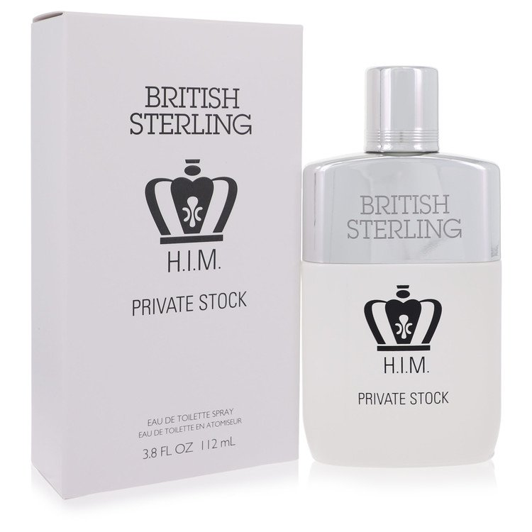 British Sterling Him Private Stock Cologne by Dana - 3.8 oz Eau De Toilette Spray