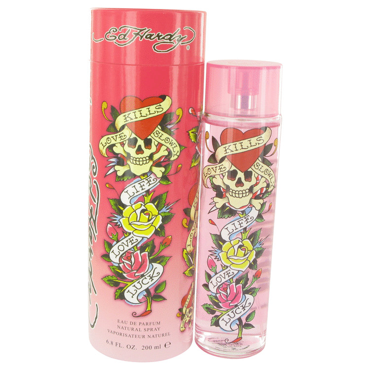 Ed Hardy Perfume by Christian Audigier - 6.7 oz Eau De Parfum Spray 510999