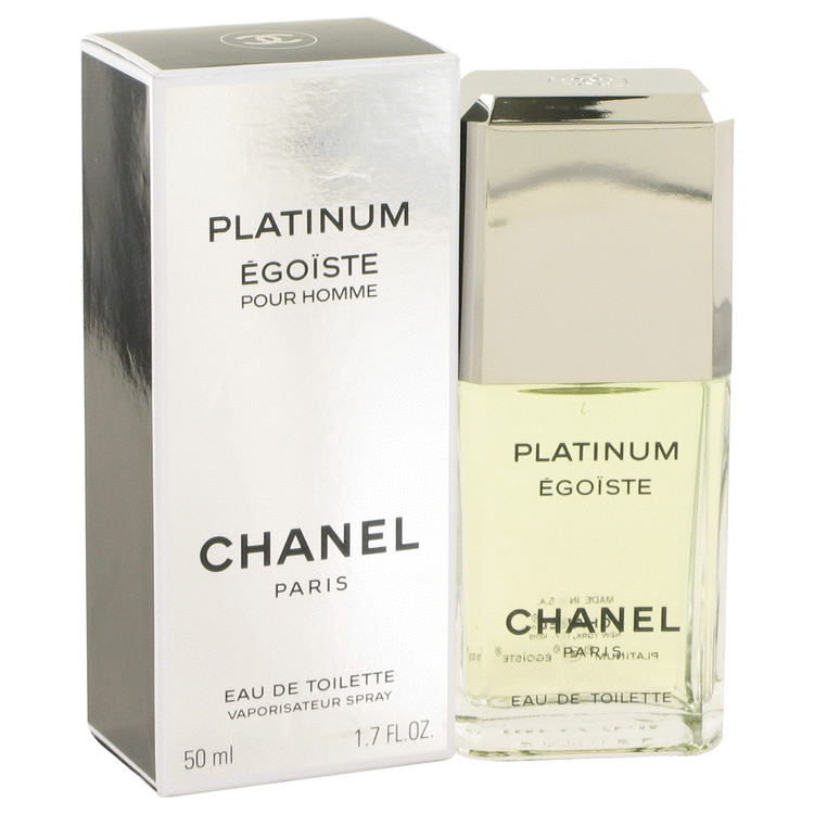 fd331844ad2 Egoiste Platinum Cologne by Chanel - 1.7 oz Eau De Toilette Spray
