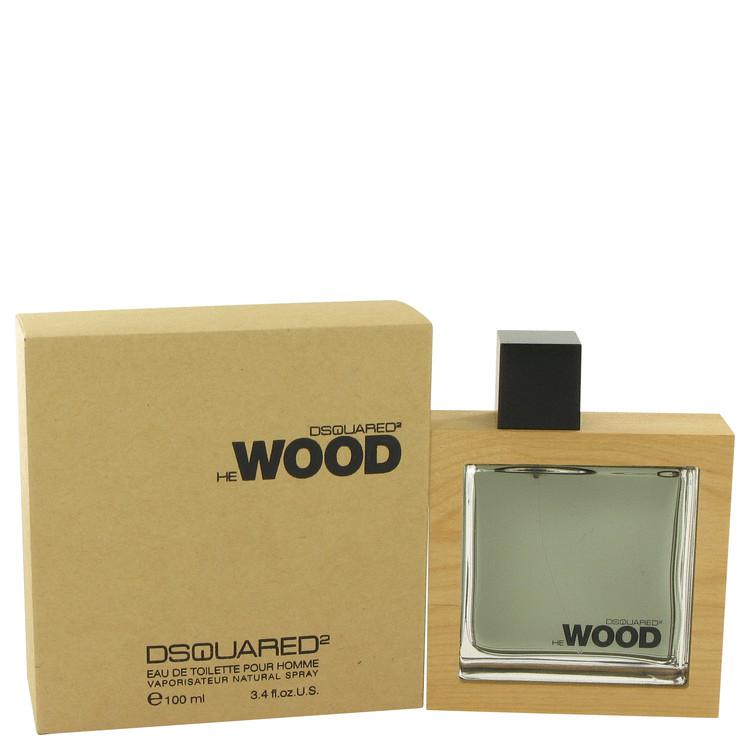 He Wood Cologne by Dsquared2 - 3.4 oz Eau De Toilette Spray 590314f2e7ef