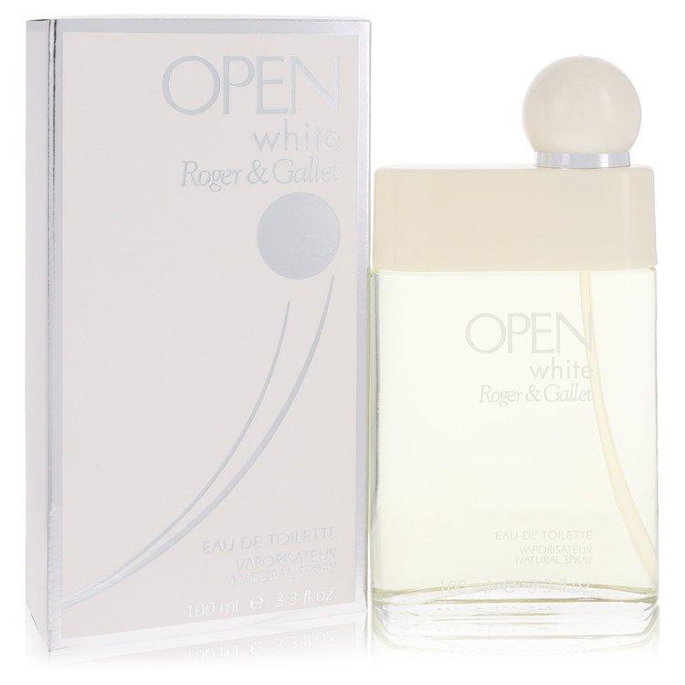 Open White Cologne by Roger & Gallet - 3.3 oz Eau De Toilette Spray 541265