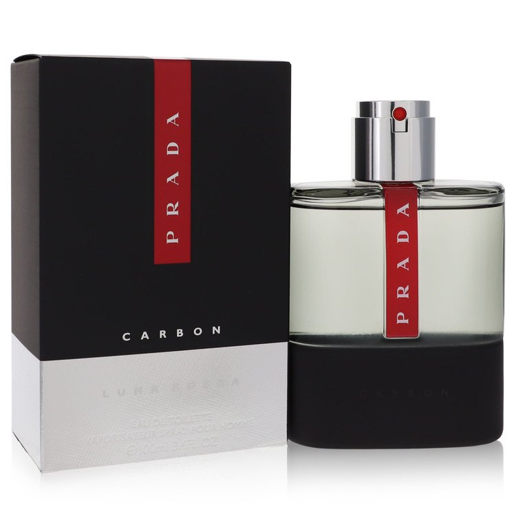 Prada Luna Rossa Carbon Cologne by Prada - 3.4 oz Eau De Toilette Spray 536935