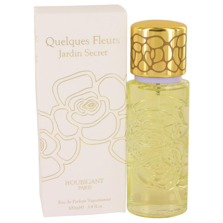 Quelques Fleurs Jardin Secret Perfume by Houbigant - 3.4 oz Eau De Parfum Spray 538001
