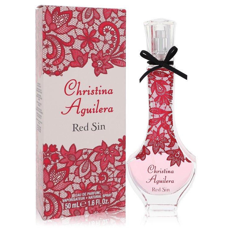 daf563c2f78 Christina Aguilera Red Sin Perfume by Christina Aguilera - 1.7 oz Eau De  Parfum Spray