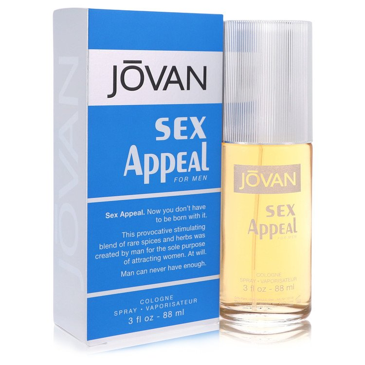 Sex Appeal For Men By Jovan 1976 Basenotesnet