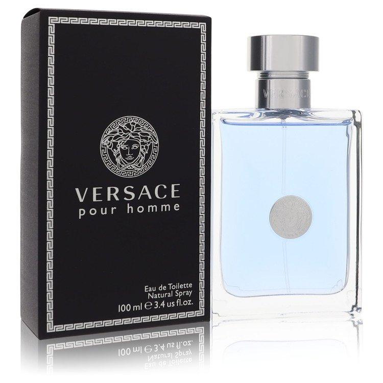 Versace Pour Homme Cologne by Versace - 3.4 oz Eau De Toilette Spray 6c86ceede67