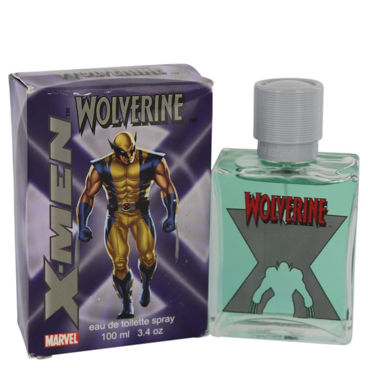 X-men Wolverine Cologne by Marvel - 3.4 oz Eau De Toilette Spray (slightly damaged boxes) 540464